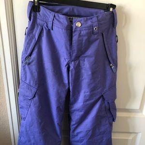 Burton girls elite cargo board or ski pants